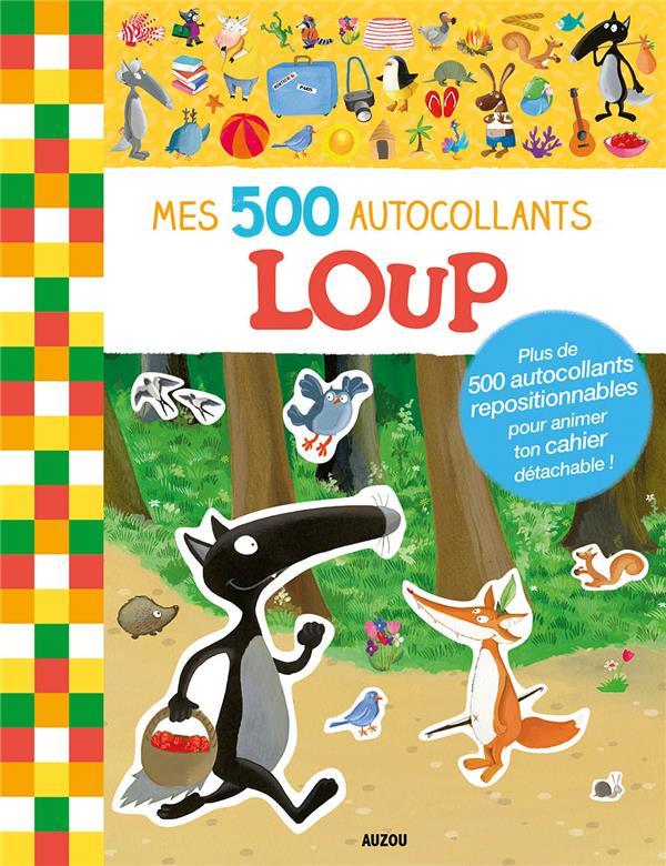 MES 500 AUTOCOLLANTS : LOUP
