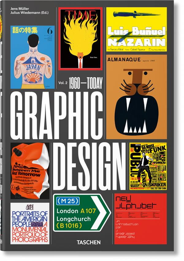 Histoire du graphisme v.2 ; 1960 à nos jours