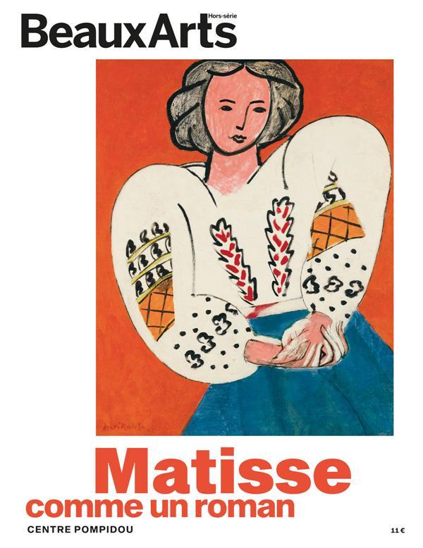 Matisse, comme un roman ; Centre Pompidou