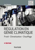 Vente EBooks : Régulation en génie climatique - 3e éd.  - Jean Desmons