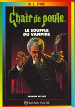 Couverture de Chair de poule t.39 ; le souffle du vampire
