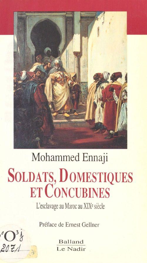 Soldats,domestiques et concubines