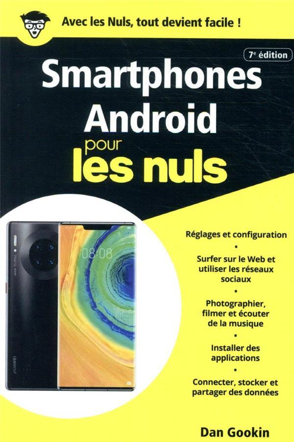 Smartphones Android poche pour les nuls (7e édition)