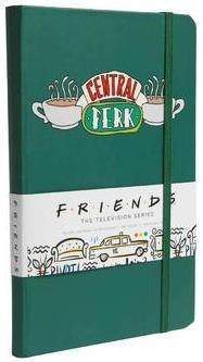 Friends ; Central Park ; carnet ligné avec pochette