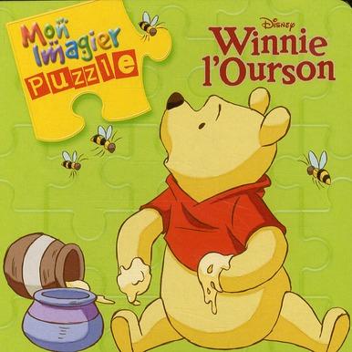 Mon Imagier Puzzle ; Winnie L'Ourson