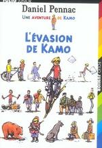 Couverture de Kamo t.4 ; l'évasion de kamo