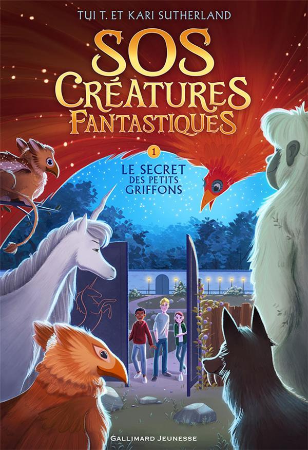 Sos Creatures Fantastiques T.1 ; Le Secret Des Petits Griffons