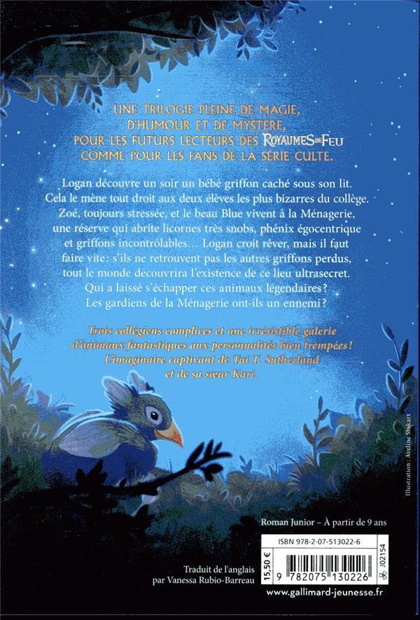 S.O.S. créatures fantastiques t.1 ; le secret des petits griffons