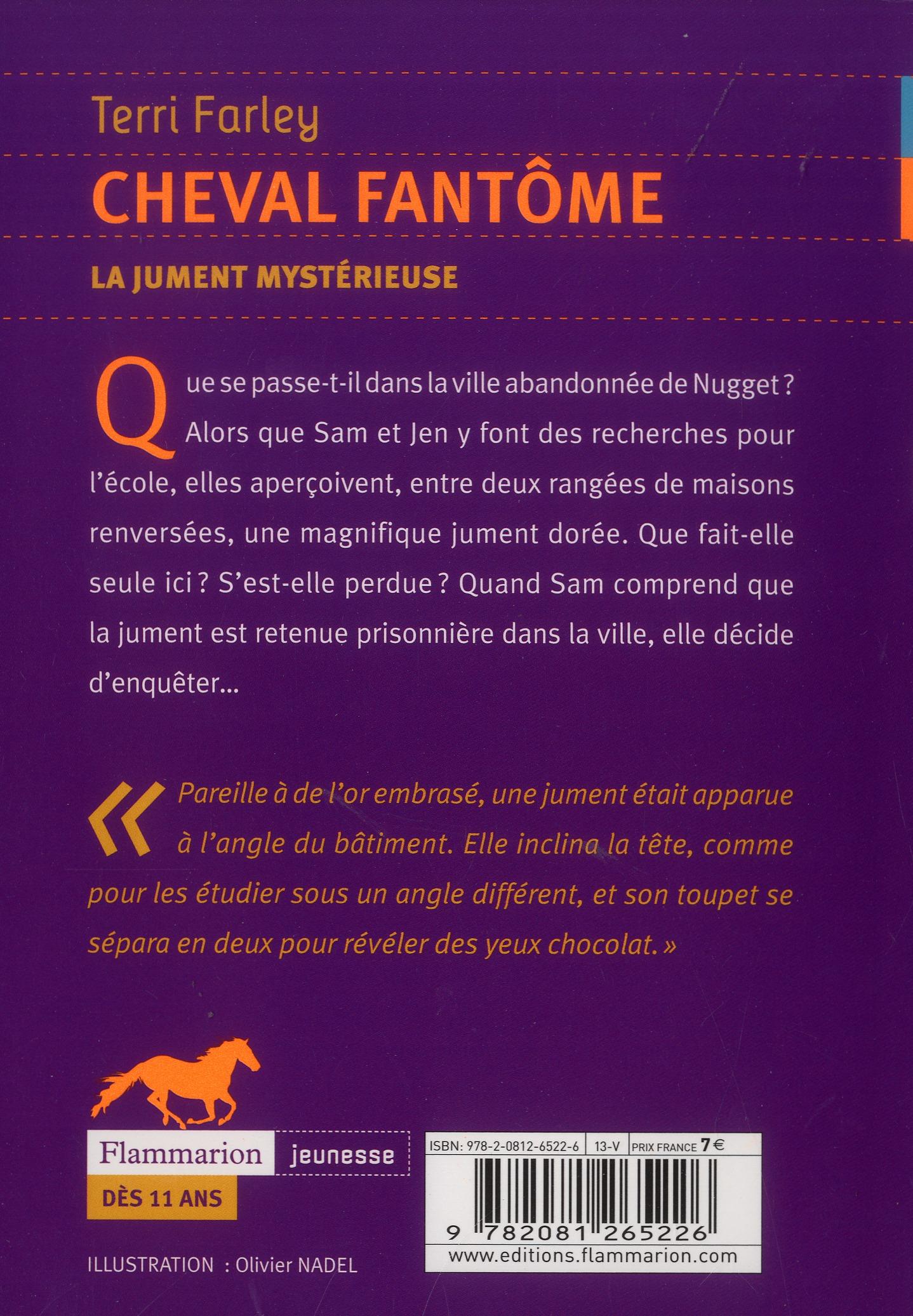 Cheval fantôme t.8 ; la jument mystérieuse