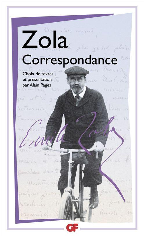 Zola, correspondance