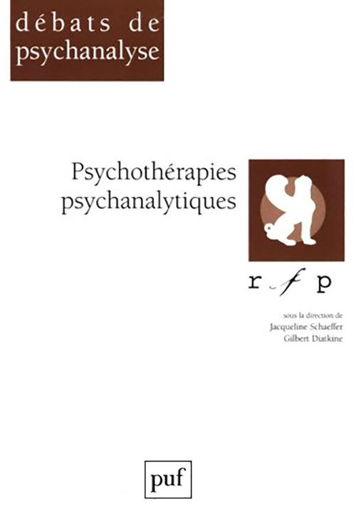 Psychotherapies psychanalytiques