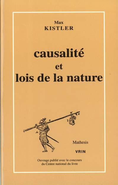 Causalite et lois de la nature