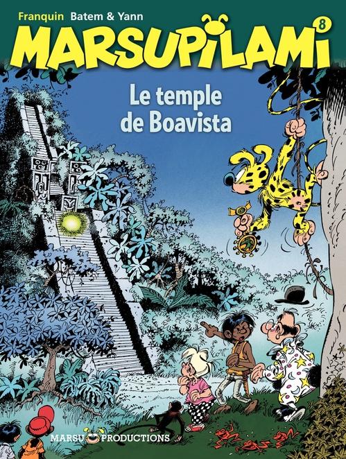Marsupilami T.8 ; le temple de Boavista