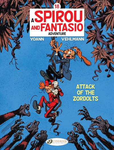Spirou & Fantasio adventures t.18 ; attack of the zordolts