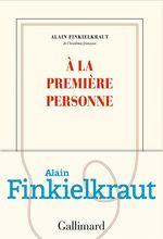 Vente EBooks : À la première personne  - Alain Finkielkraut