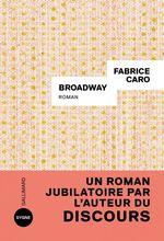 Vente Livre Numérique : Broadway  - Fabrice Caro