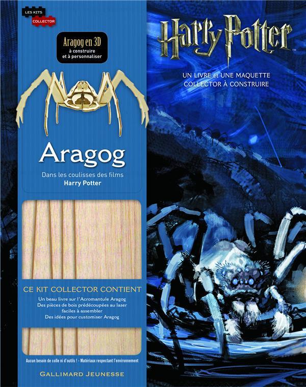 Harry Potter ; Aragog ; dans les coulisses des films