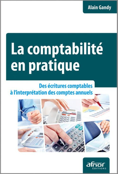 La comptabilité en pratique ; des écritures comptables à l'interprétation des comptes annuels