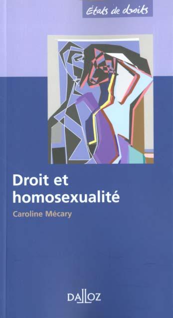 Droit Et Homosexualite
