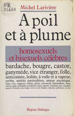 À poil et à plume  - Michel Larivière