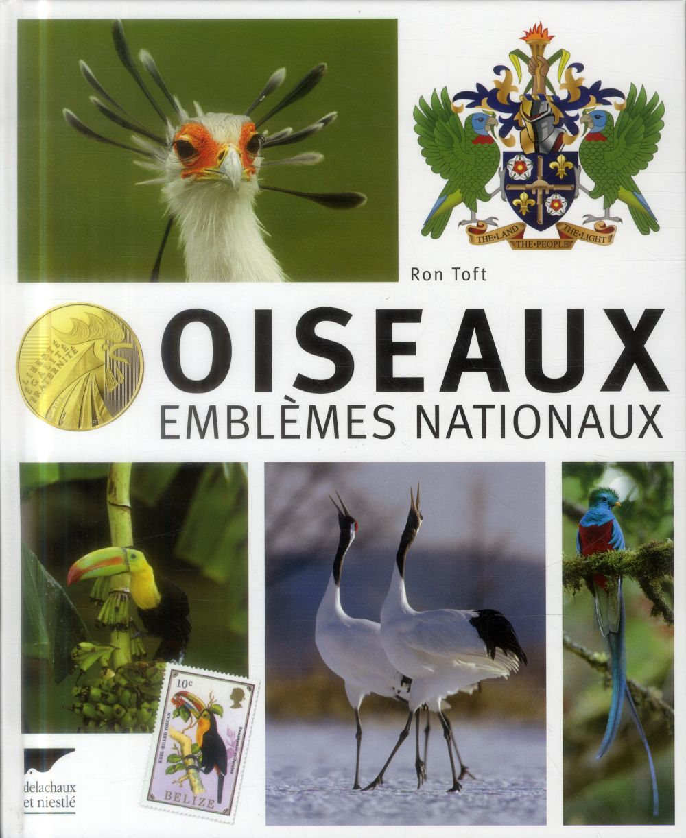 Oiseaux ; emblèmes nationaux