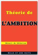 Theorie de l'ambition