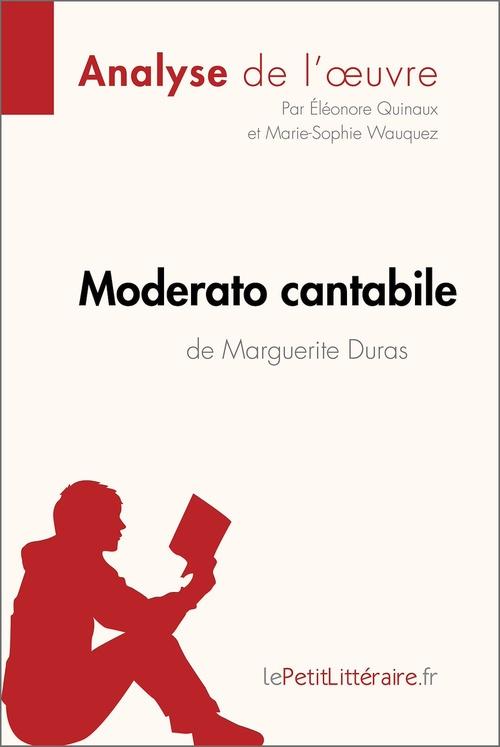 Moderato cantabile de Marguerite Duras