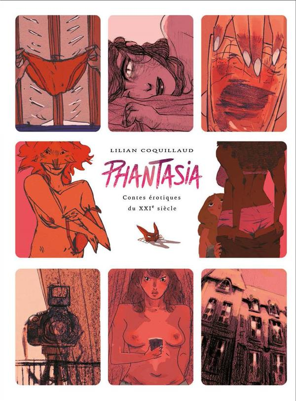 Phantasia ; contes érotiques du XXIe siècle