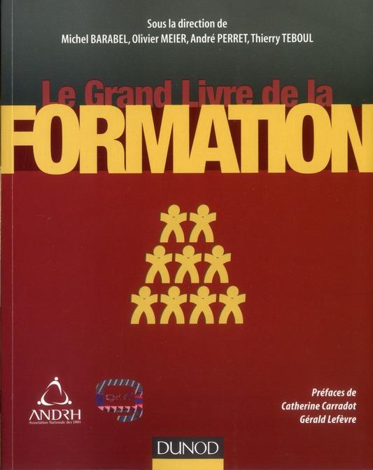 Le grand livre de la formation ; stratégie, ingénierie, évaluation, outils