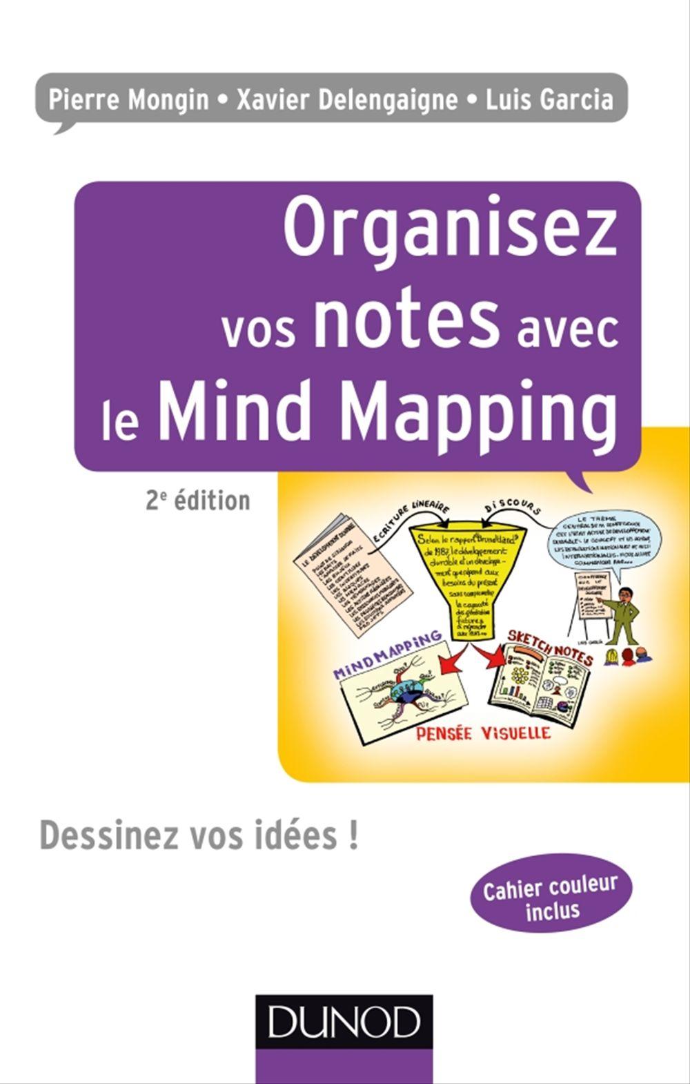 Organisez vos notes avec le mind mapping ; dessinez vos idées ! (2e édition)
