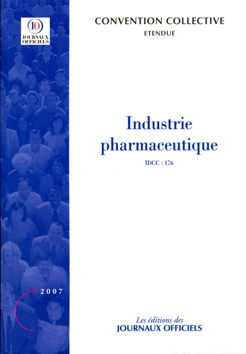 Industrie Pharmaceutique ; Idcc 176