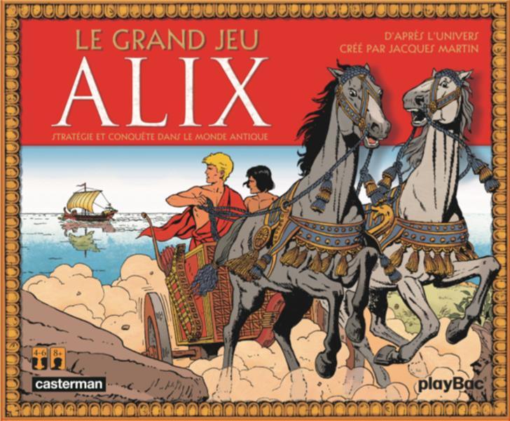 Alix ; le grand jeu