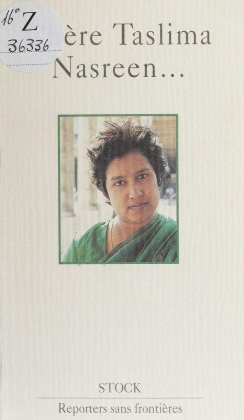 Chere taslima nasreen