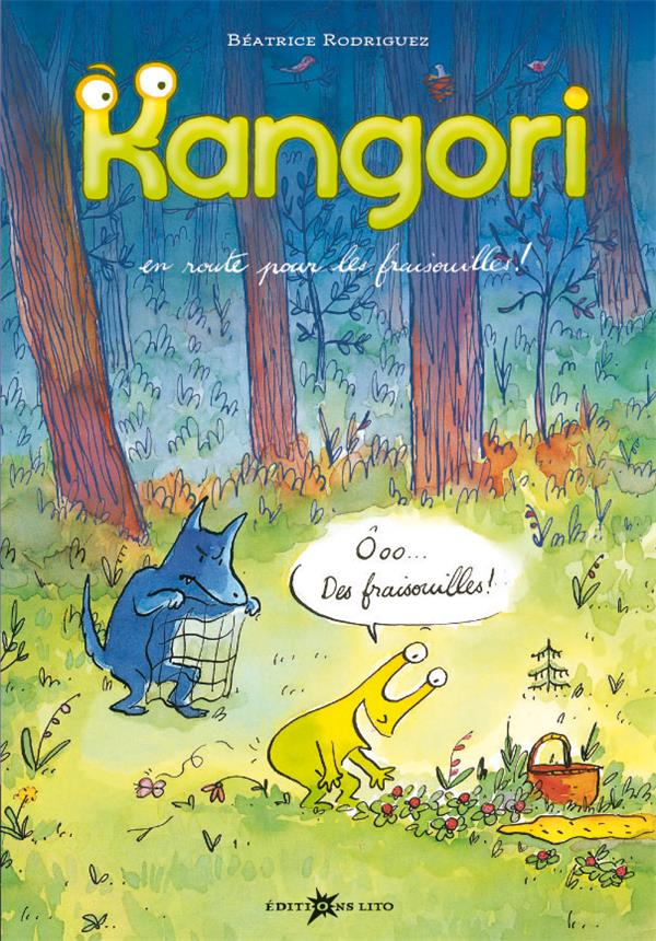 Kangori ; en route pour les fraisouilles !