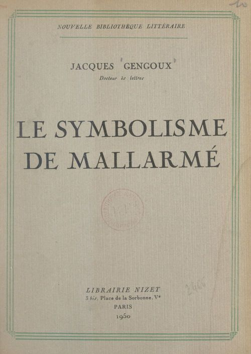 Le symbolisme de Mallarmé