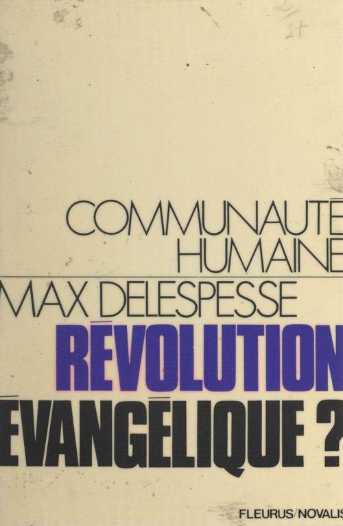 Révolution évangélique ?