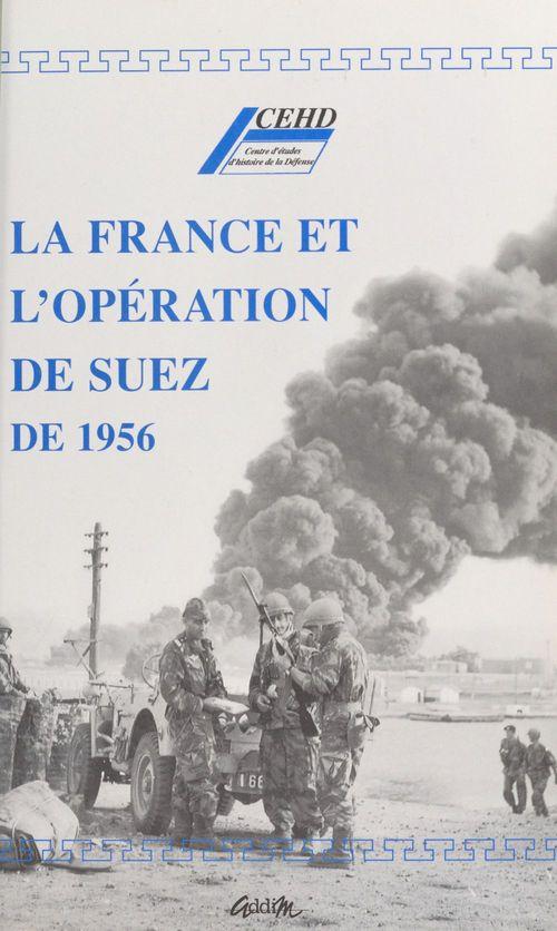 La france et l'operation de suez de 1956