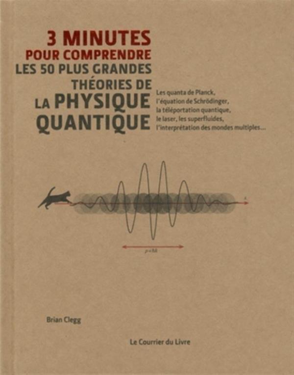 3 minutes pour comprendre les 50 plus grandes théories de physique quantique
