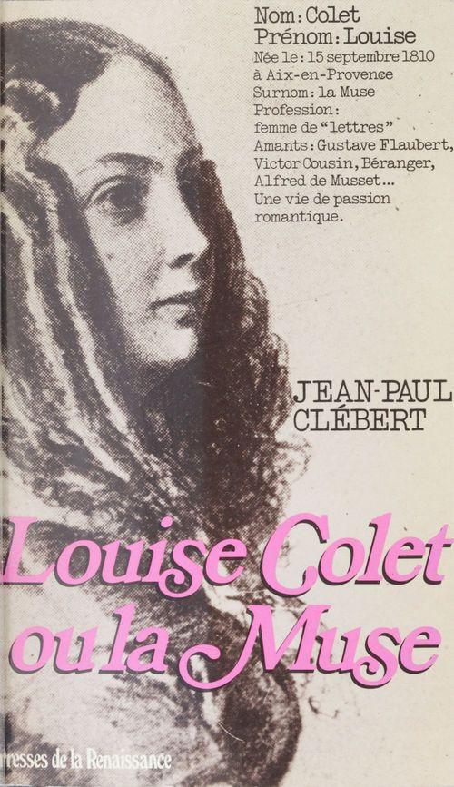 Louise colet ou la muse