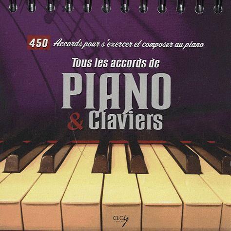 Tous les accords de piano