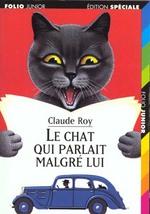 Couverture de Le chat qui parlait malgré lui