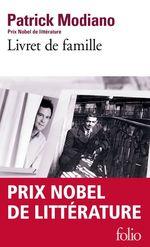 Vente Livre Numérique : Livret de famille  - Patrick Modiano