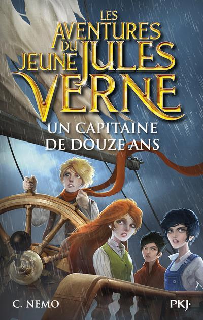 les aventures du jeune Jules Verne t.6 ; un capitaine de douze ans
