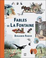 Couverture de Fables De La Fontaine - Benjamin Rabier