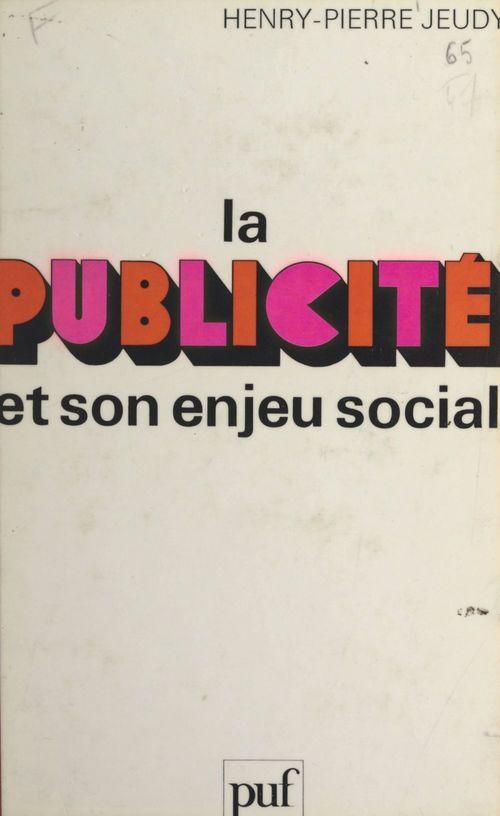 La publicité et son enjeu social