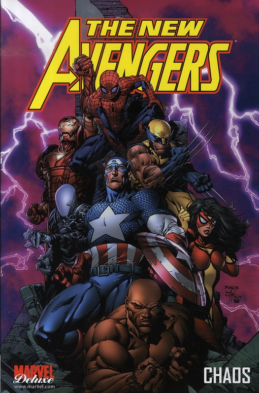 The new Avengers T.1 ; chaos