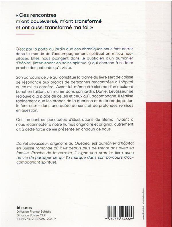 la parabole du mûrier : chroniques d'un aumônier d'hôpital