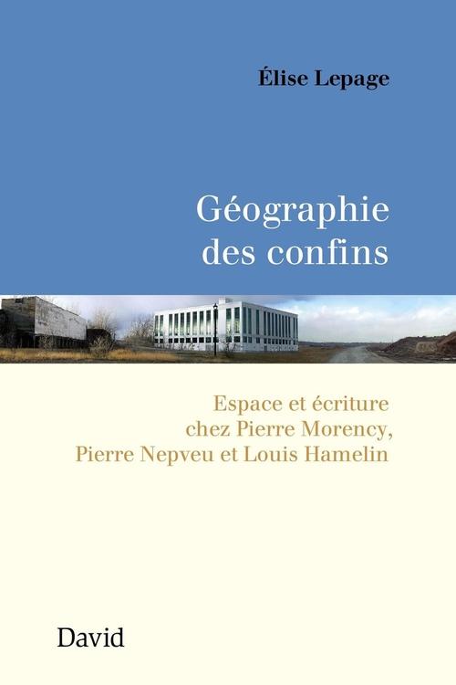 Géographie des confins