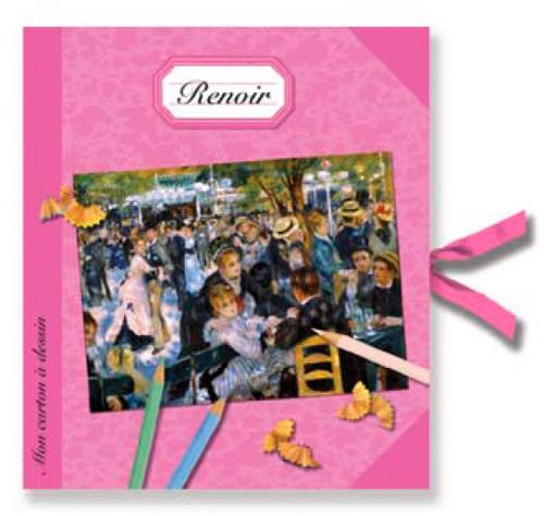 Mon carton à dessin Renoir