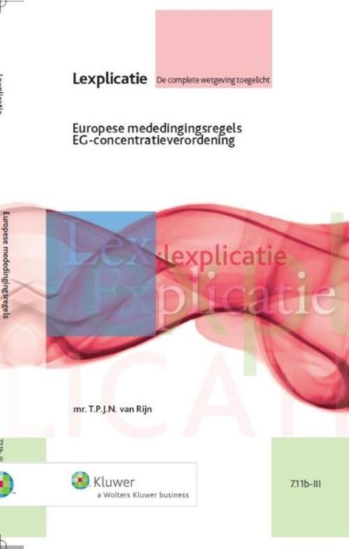 Europese mededingingsregels EG-concentratieverordening